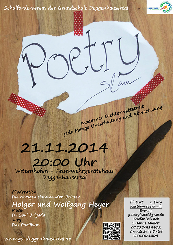 Poetry Slam Wittenhofen